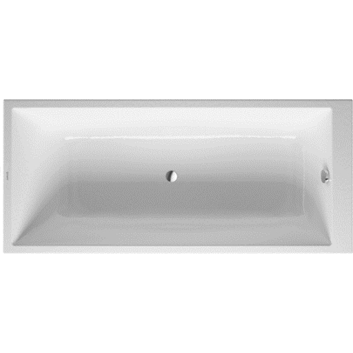 Onto, Wanna 1700 x 750 mm, kolor: Biały, 700231000000000, Duravit